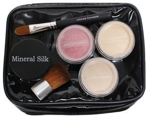 Mineral Makeup and Brush Set
